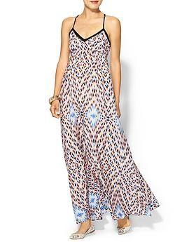 Greylin Priscilla Silk Maxi Dress | Piperlime