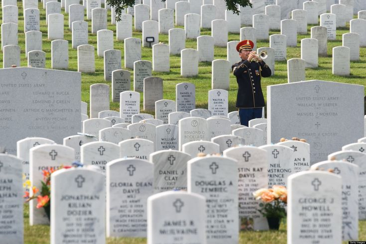 Taps Plays On At Military Funerals As Bugle Tradition Declines