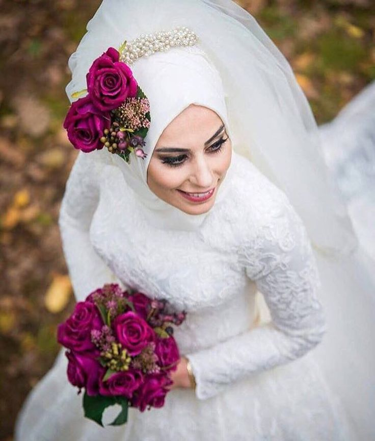 308 best hijabi bride images on pinterest muslim brides for Wedding dresses for muslim brides