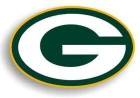 "Green Bay Packers 12"""" Logo Car Magnet"