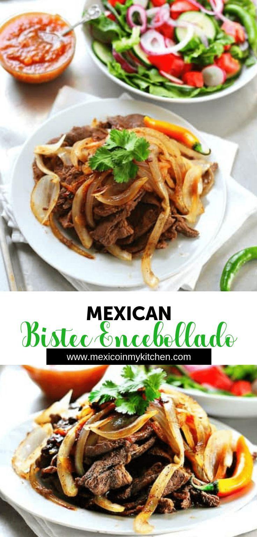 Bistec encebollado recipe in 2020 recipes