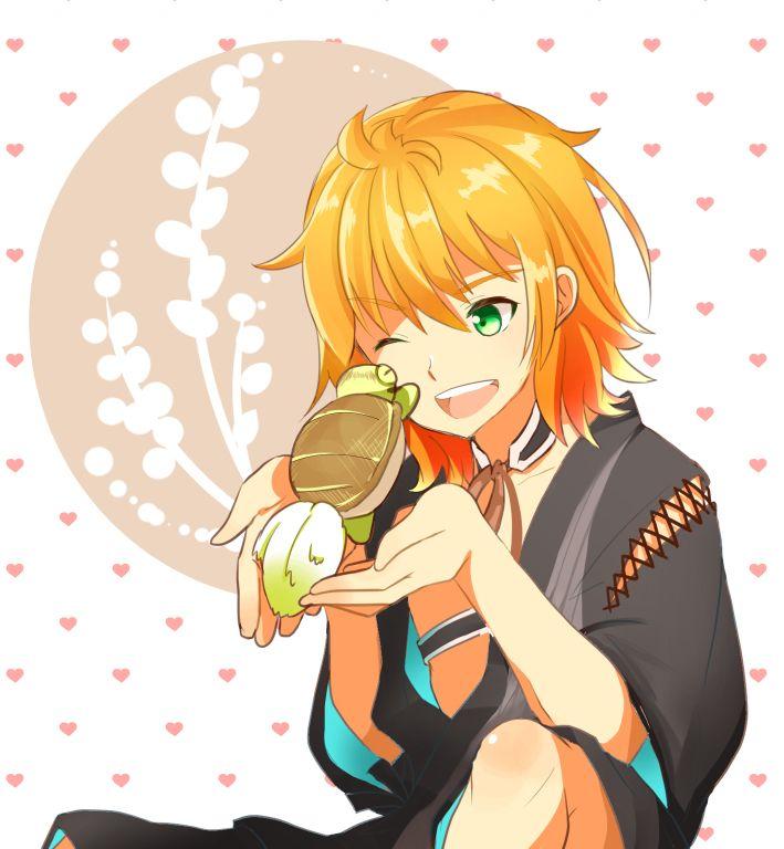 urashima kotetsu - A sword and his turtle.