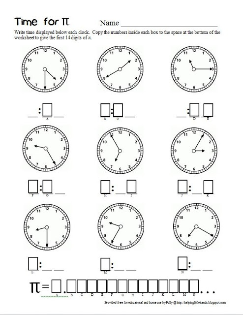 Math Worksheets pi math worksheets : 17 Best images about Math. Pi on Pinterest | Activities, Math ...