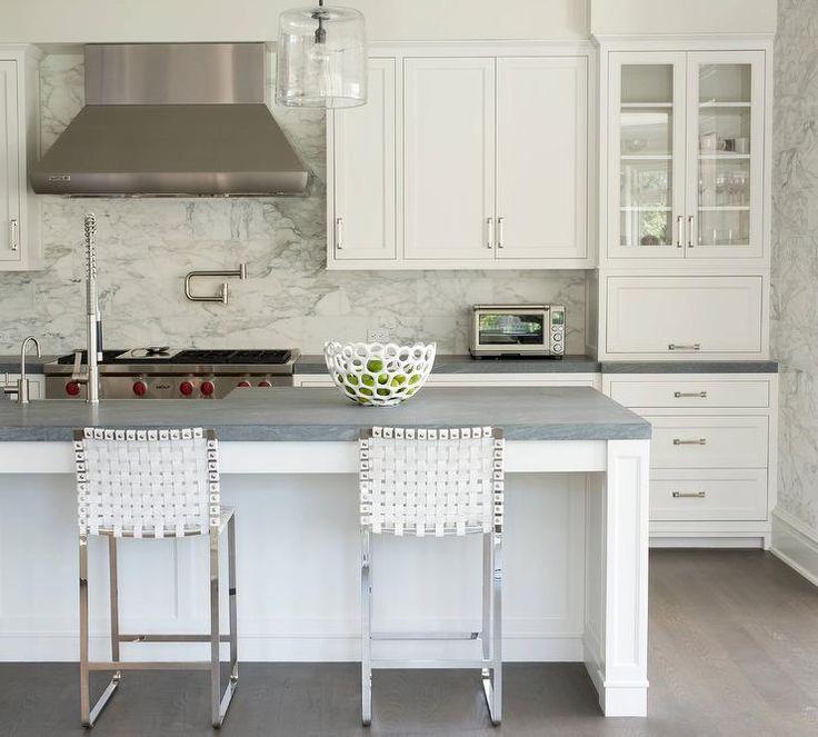 Granite Countertops Kitchen Design: 1000+ Ideas About Gray Granite Countertops On Pinterest