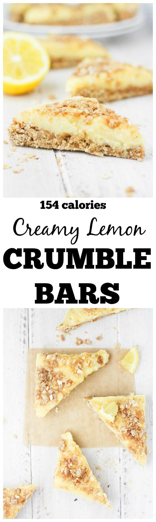Creamy Lemon Crumble Bars - soft and chewy oatmeal bars with a zesty lemon custard filling. www.itscheatdayeveryday.com