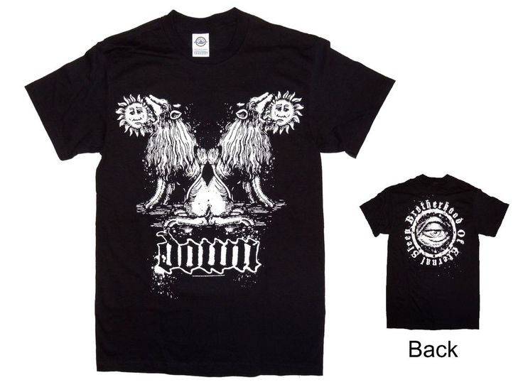 Down Band Shirt Men's S Small Brotherhood of Eternal Sleep New Official Tee #Down #GraphicTee