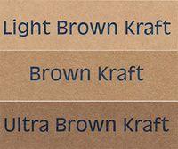 Brown Kraft Labels - no minimum order