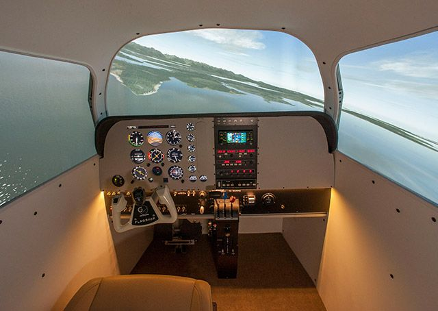 The one-G simulation flagship, an AATD, can replicate a Beechcraft