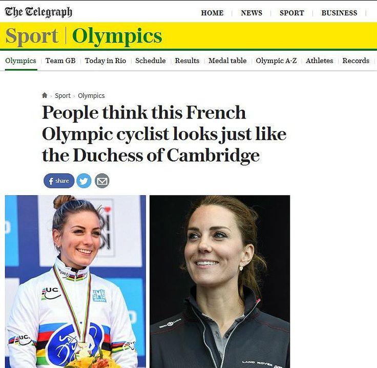 Se você está assistindo aos Jogos Olímpicos Rio 2016 e, zapeando os canais, passou pela prova de Ciclismo de Estrada feminina, pode ter visto Kate Middleton, a Duquesa de Cambridge e esposa do Príncipe William em uma das bicicletas. Ou não?Não se preocupe, você não está louco. A Duquesa não está nas Oli