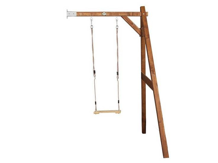 Enkele Muurschommel (hout) van Axi.De Buitenspeelshop heeft een groot assortiment aan schommels en speeltoestellen. Levertijd houten schommels 1-3 werkdagen.