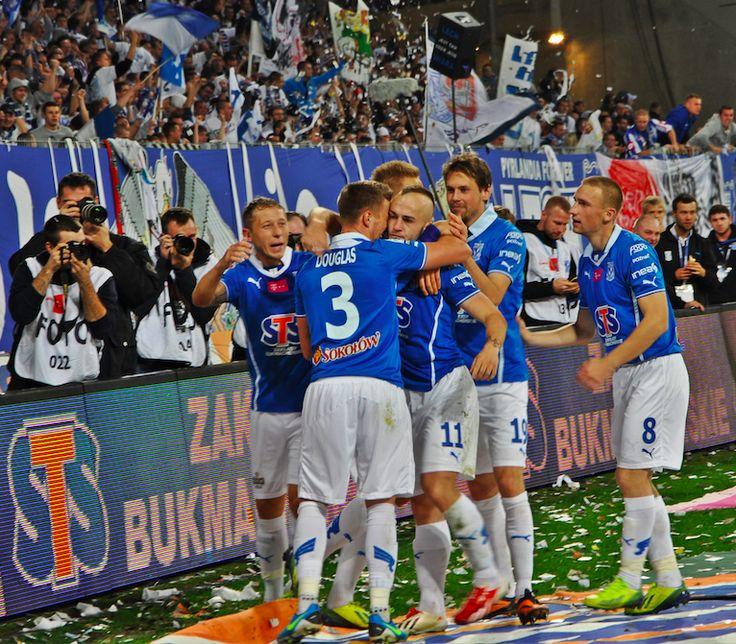 Poznan Poland, mecz Lech-Legia 27 października, Inea Stadion [mat. Miasto Poznań]
