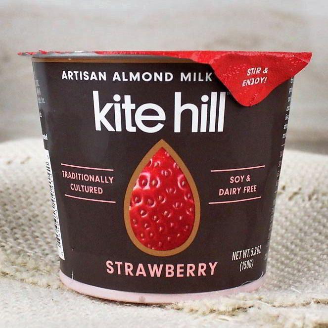 Kite Hill Organic Almond Milk Yogurt Strawberry