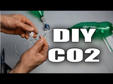 HOW TO: DIY CO2 system for aquarium plants TUTORIAL - YouTube