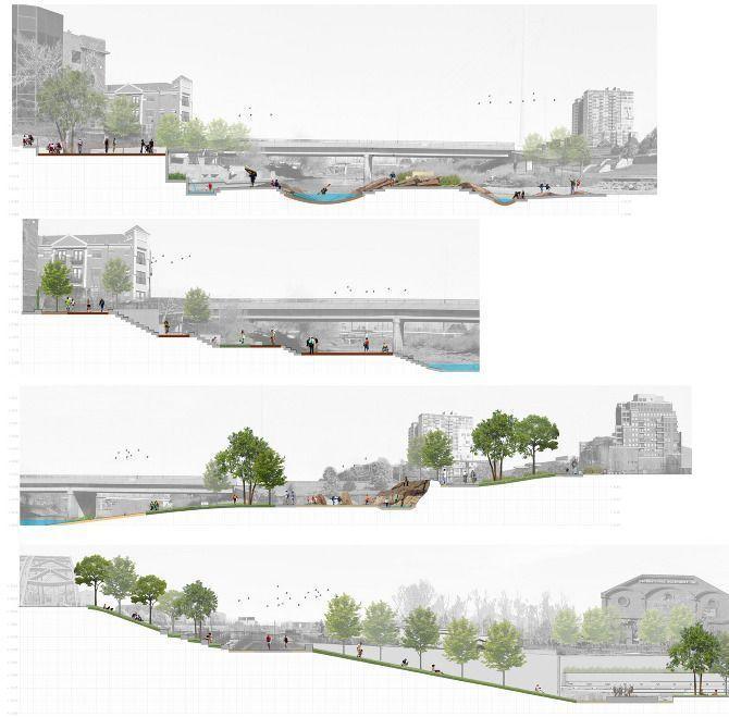 Image Result For Site Analysis Cross Sections Landscape Architecture Landscapepark Landshaftnye Plany Arhitekturnyj Dizajn Gorodskaya Arhitektura