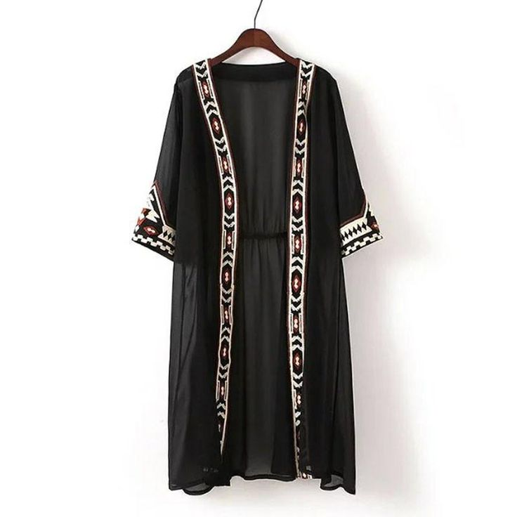 This is a great hit: Fashion Womens Bl... Its on Sale! http://jagmohansabharwal.myshopify.com/products/fashion-womens-black-white-color-geometric-embroidery-ethnic-shirt-cardigan-summer-sunscreen-kimono-blouses?utm_campaign=social_autopilot&utm_source=pin&utm_medium=pin