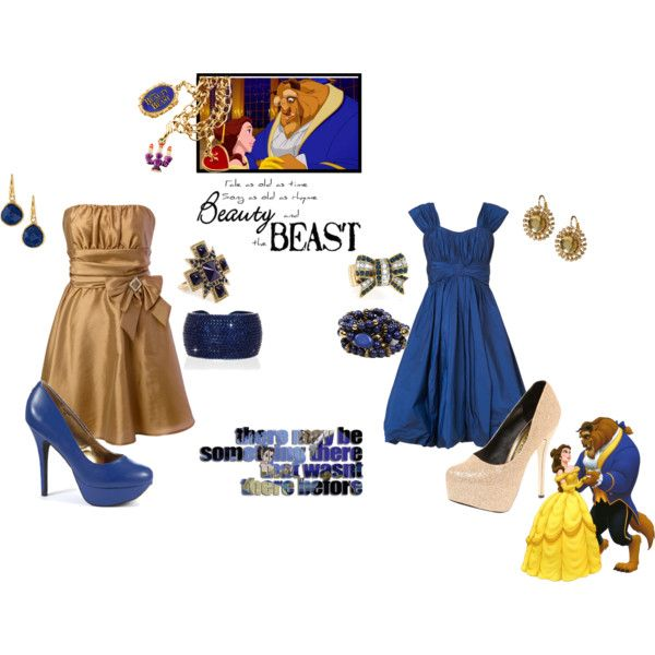 Beauty And The Beast Bridesmaids
