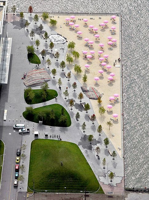 Sugar-Beach-by-Claude_Cormier_Associés-02-CC « Landscape Architecture Works | Landezine Landscape Architecture Works | Landezine-love it