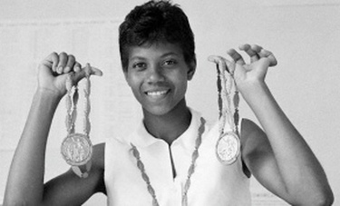 wilma rudolph the triumph over polio A biography of the woman who overcame crippling polio as a child to become the first woman to win three gold medals in track in a single olympics  triumph in rome.