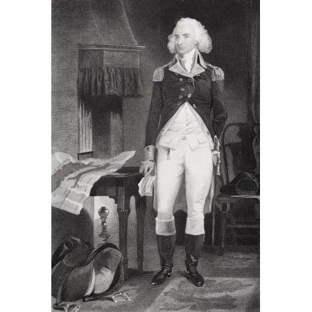 Philip Schuyler 1733-1804 American Major General During American Revolution From Painting By Alonzo Chappel Canvas Art - Ken Welsh Design Pics (24 x 34)