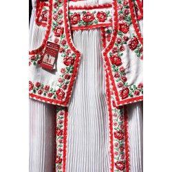Kalotaszegi ruha - fehér-cifa