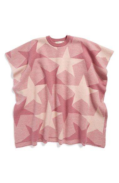 Stella+McCartney+Kids+'Agnes'+Star+Wool+Cape+(Little+Girls+&+Big+Girls)+available+at+#Nordstrom