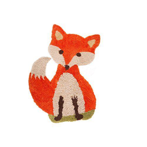 Flair Rugs ChildrensKids Freddie Fox Floor Rug 235in x 355in Orange *** Visit the image link more details.