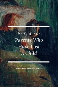 Prayer for Parents Who Have Lost a Child