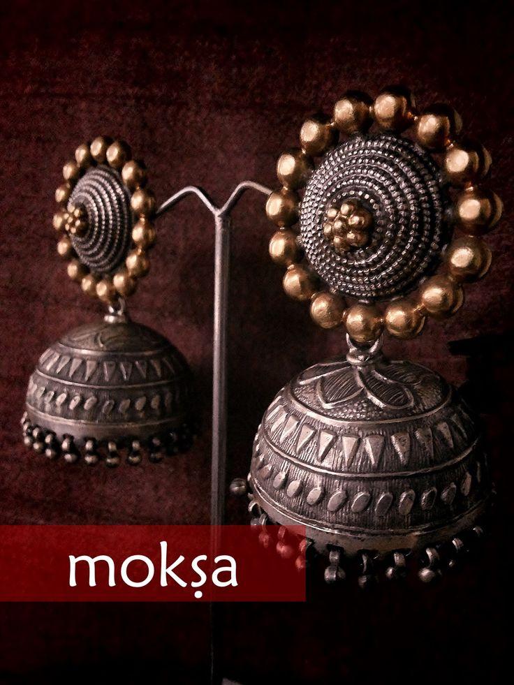 Silver Jhumka Jewellery Jewellery Moksa Jewelry