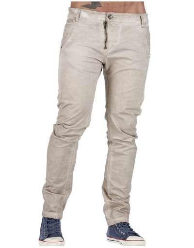 ΑΝΔΡΙΚΑ ΡΟΥΧΑ :: Παντελόνια :: Παντελόνι Cargo Washed Pants Beige - OEM