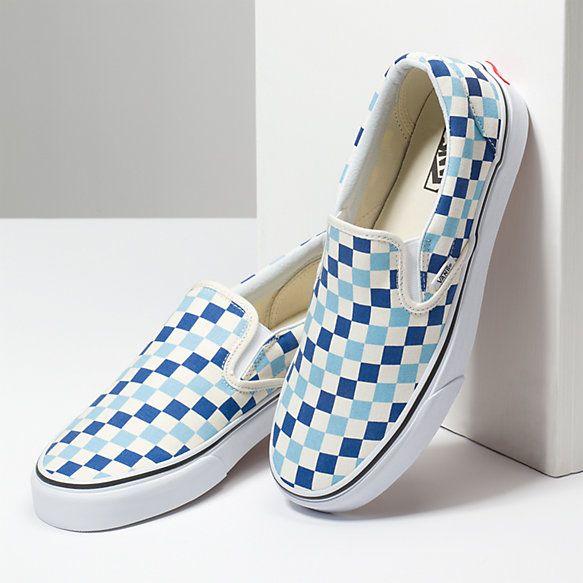 Checkerboard Slip-On   Vans shoes