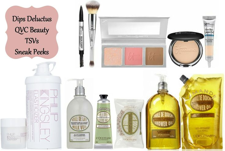 QVC TSVs 16 June - 22 June 2014 Sneak Peeks, IT Cosmetics, L@occitane and Philip Kingsley