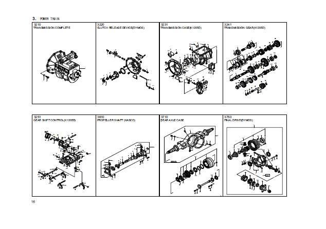 DAEWOO BUS BS106 CHASSIS PARTS CATALOG Parts catalog