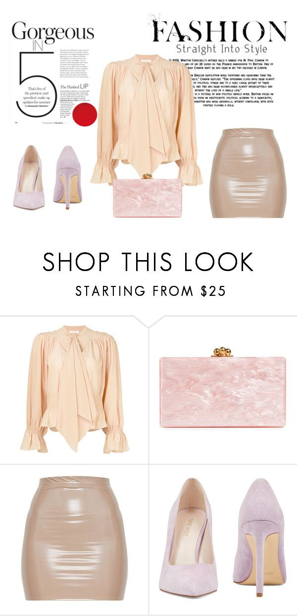 """""""Contest"""" by alisa-smajic ❤ liked on Polyvore featuring Chloé, Edie Parker and Nine West"""