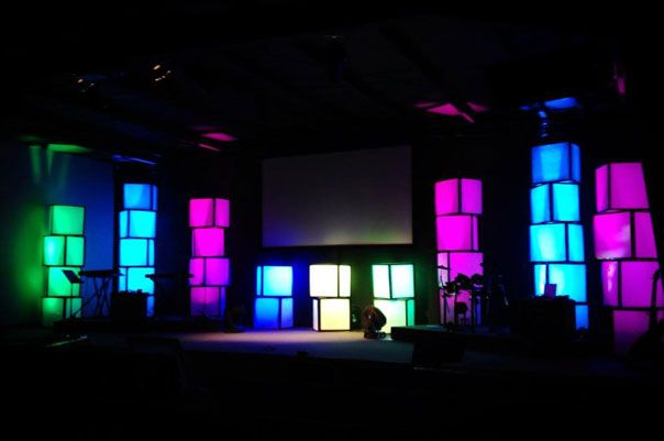 another stage idea advent ideas pinterest church