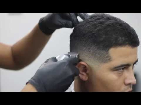 how to fade hair clipper over comb - YouTube