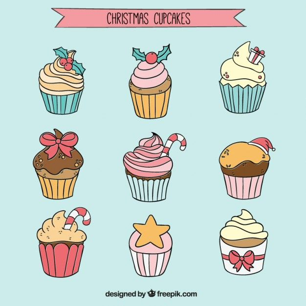 Cupcake Dessert Vectors, Photos and PSD files | Free Download
