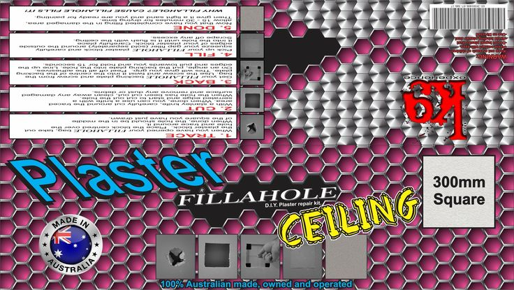 Only 5 days until the official launch of you Fillahole® D.I.Y Plaster repair kit! Now you can fix that hole in the wall on minutes not hours! WHY FILLAHOLE? CAUSE FILLAHOLE FILLS IT