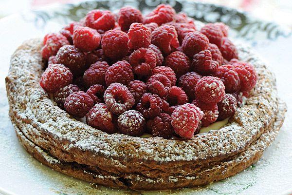 una torta para una tarde de té