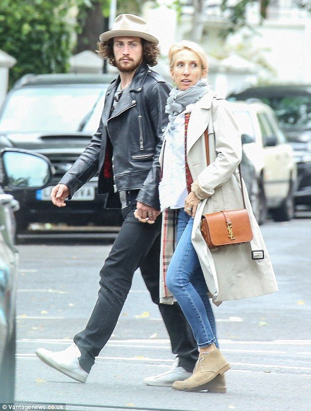 Time for a change? Aaron Taylor-Johnson, 25, and wife Sam, 48, were seen hunting for prope...