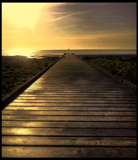 lytham pier (no amusements just a sunrise what more do you need)