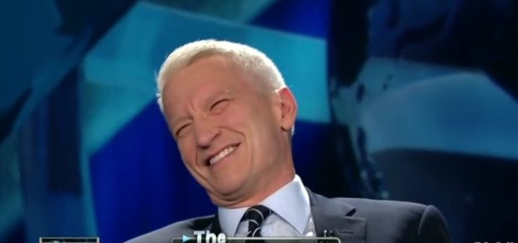 Anderson Cooper  smiling