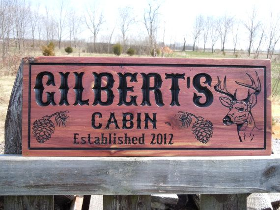 28 best images about cabin signs on pinterest for Cabin signs wood