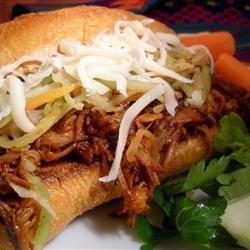 Porc effiloché pour sandwichs @ http://qc.allrecipes.ca