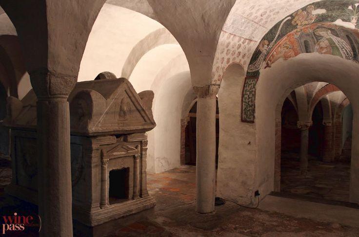 Crypts of the Ivrea Duomo Piemonte, Italy
