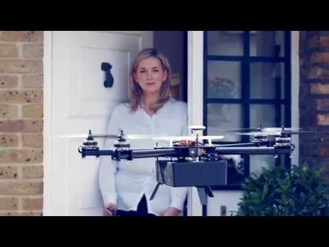 Bizzby Sky drone delivery service launches in the UK - http://tchnt.uk/1tEvUk4