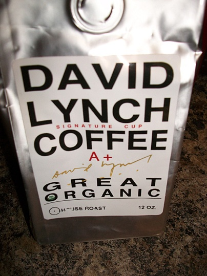 David Lynch Coffee - for those who fancy a change from Mr Scruff's tea