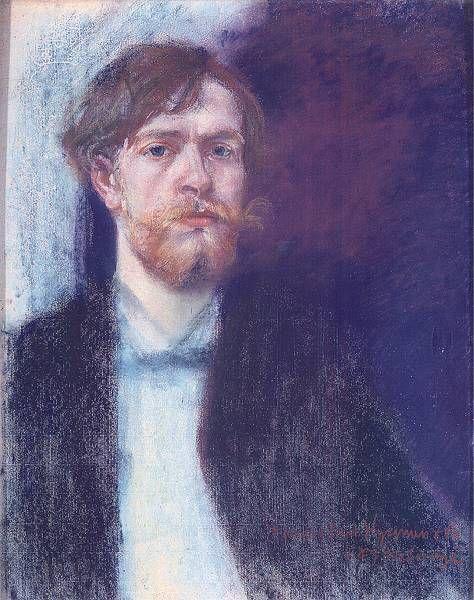 Stanisław Wyspiański - Autoportret, 1894