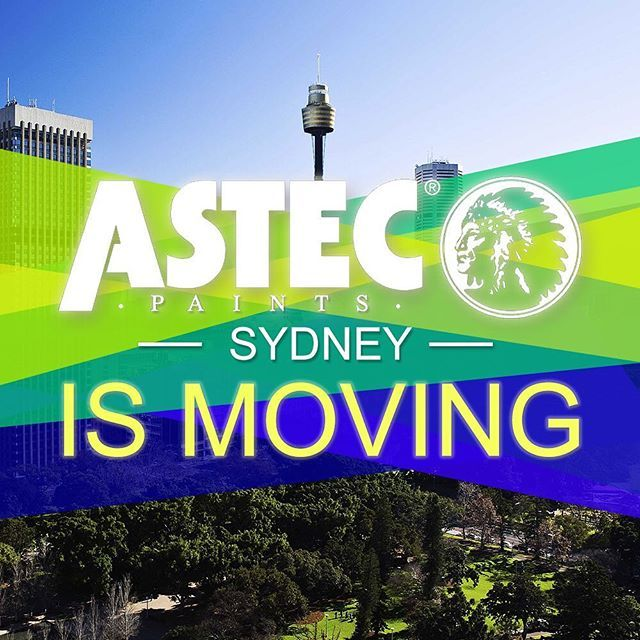Astec Paints Sydney is making a big move to a larger space located in St Peters. The big move will occur in the end of the month.  Details of the new location, coming soon.  #great #moving #project #architecture #archilovers #architecturelovers #architect #design #designer #thursday #art #astec #paints #sydney #construction #hotel #living #picoftheday #thankful #blessed #highend #lovethiscity #best #apartments #followme #morning #follow #winning #innerwest #sydney