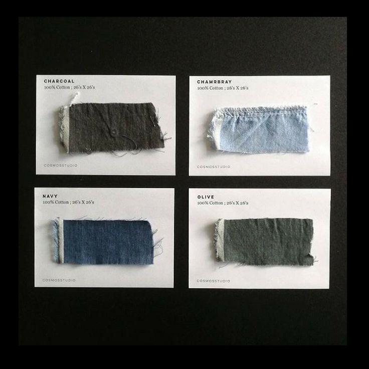 COMOS studio sustainable shirt colours