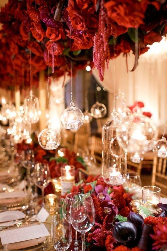 Best 25 Red Wedding Receptions Ideas On Pinterest Red